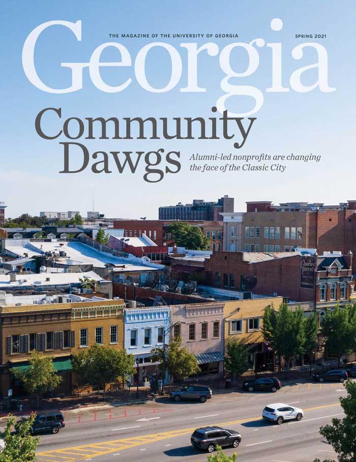 Current edition of Georgia Magazine