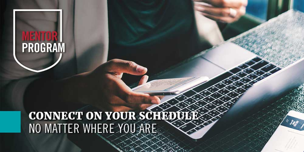 UGA Mentor Program - Connect on your schedule no matter where you are